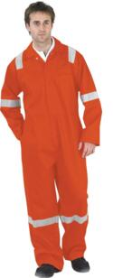 Nordic HiVis Flame Retardant Boilersuit - Orange