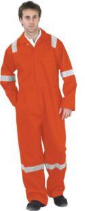 Nordic HiVis Flame Retardant Boilersuit - Orange