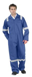 Nordic HiVis Flame Retardant Boilersuit - Navy Blue