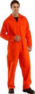 Click Flame Retardant Boilersuit - Overalls - Orange