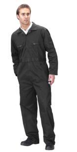 Click Economy Boilersuit - Overalls - Black