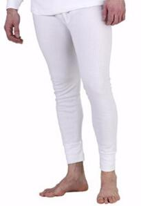 Click Thermal Long Johns - White