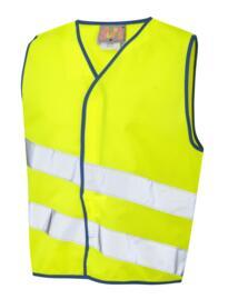 HiVis Neonstars Childrens Waistcoat - Yellow