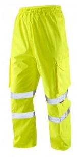 Leo HiVis Cargo Over Trousers - Yellow