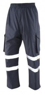 Appledore HiVis Cargo Over Trousers - Navy Blue