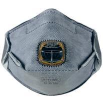 JSP Typhoon Fold Flat Disposable Mask - FFP2 Odour Valved - Box 10