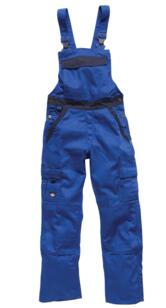 Dickies Industry 300 Bib & Brace - Royal Blue / Navy Blue