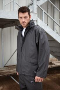 Voss Waterproof Jacket from Helly Hansen - Black