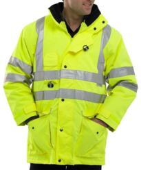 Elsener HiVis 7 in 1 Jacket - Yellow