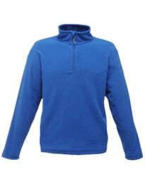 Regatta TRF549 Micro Zip Neck Fleece Jacket - Royal Blue