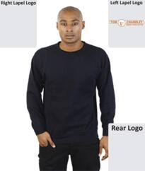 TC Absolute Sterling Sweatshirt [Embroidered] - Navy Blue