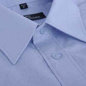 Disley Mens Classic Long Sleeve Shirt - Light Blue