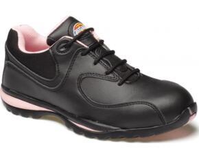 Dickies Ohio Ladies Safety Trainer Shoe - Black