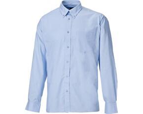 Dickies SH64200 Mens Oxford Long Sleeve Shirt - Sky Blue