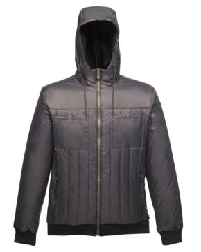 Withington hooded jacket from Regatta - Seal Grey