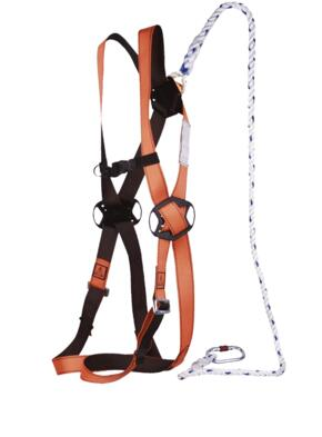 Elara 130 Work Platform Safety Harness from DeltaPlus - Orange  / Grey