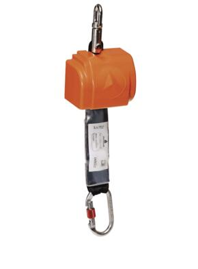 Elara 140 Fall Arrester Set from DeltaPlus - Orange  / Grey