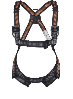Fall Arrester Harness - 3 Points Riplight - Orange  / Grey