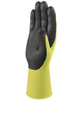 Apolonit Knitted Works Glove (Pack of 12 Pairs) - Fluorescent Yellow / Black
