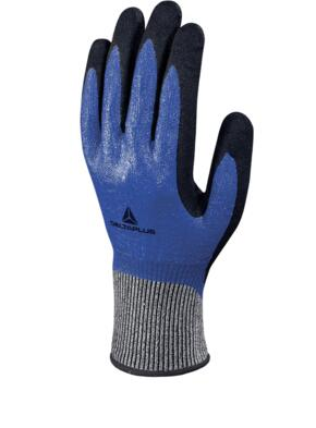 Venicut54 Knitted Glove (pack of 12 pairs) - Royal Blue / Black