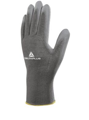 VE702PG Polyurethane Coated Glove (Pack of 12 pairs) - Grey