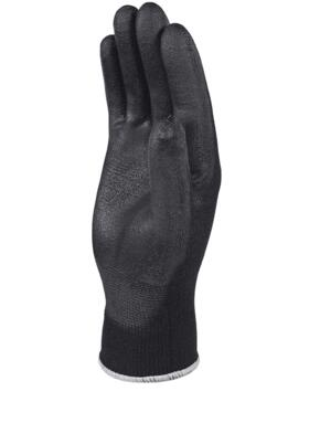 VE702PN Polyurethane Coated Glove (Pack of 12 pairs) - Black