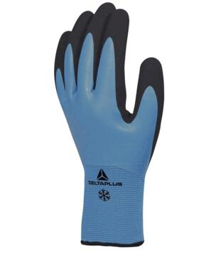Thrym Acrylic Polyamide Safety Glove (Pack of 12 pairs) - Light Blue