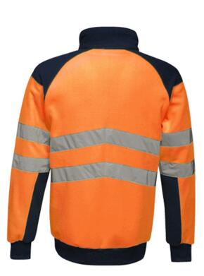 Regatta TRF525 HiVis Pro Fleece Jacket - Orange