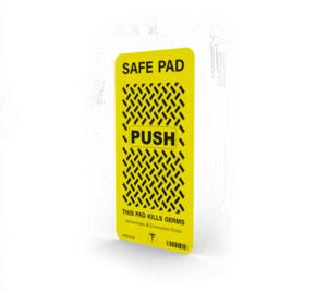 Veraco Anti Viral Door Push Pad - 200mm x 100mm