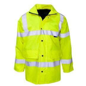 ST HiVis Economy Parka Jacket - Yellow